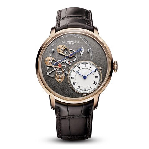 Arnold & Son Instrument DSTB 18k Gold Limited Edition 43.5mm