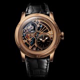 Đồng hồ nam Louis Moinet Tempograph Chrome Rose Gold Black 44mm