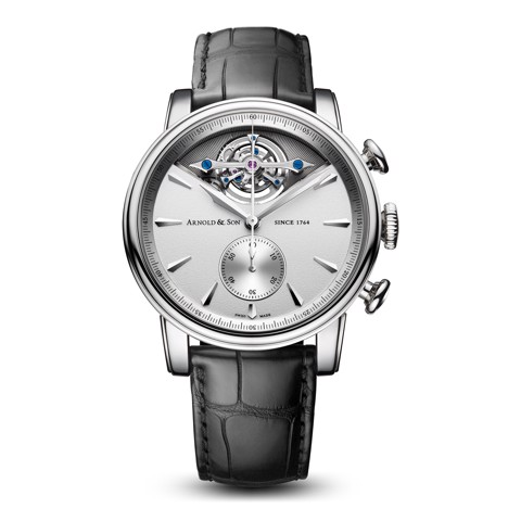 Arnold & Son Royal TEC1 Tourbillon Palladium Silver Dial