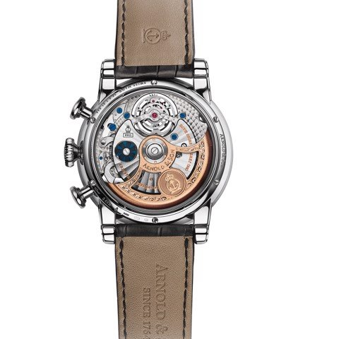 Arnold & Son Royal TEC1 Tourbillon Palladium Black Dial