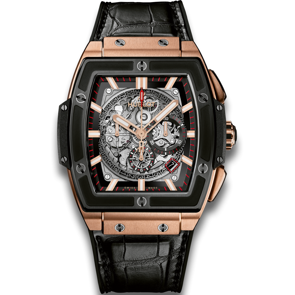 Hublot Spirit Of Big Bang Chronograph King Gold Ceramic
