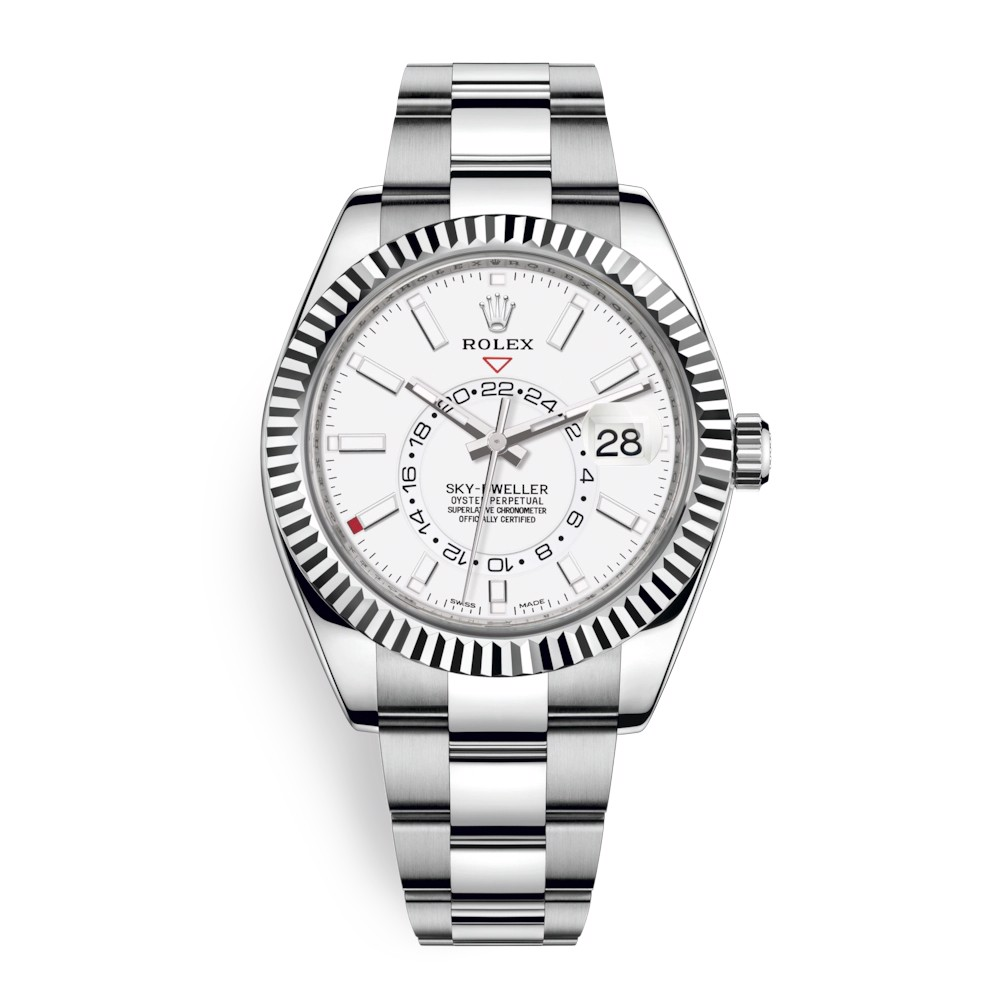 Rolex Sky Dweller 42mm White Index 326934-0001
