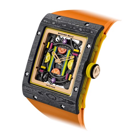 Richard Mille Men Watch Bonbon Collection RM 16-01 CITRON