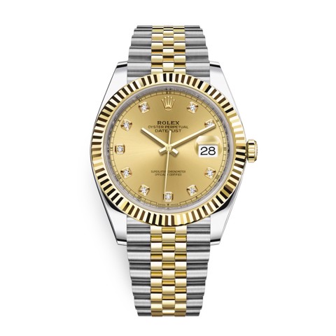 Rolex Datejust 41mm Steel and Yellow Gold 126333-0012