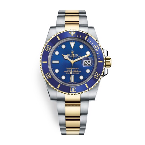 Rolex Submariner Date 40mm Stainless Steel and Gold Blue 116613LB-0005
