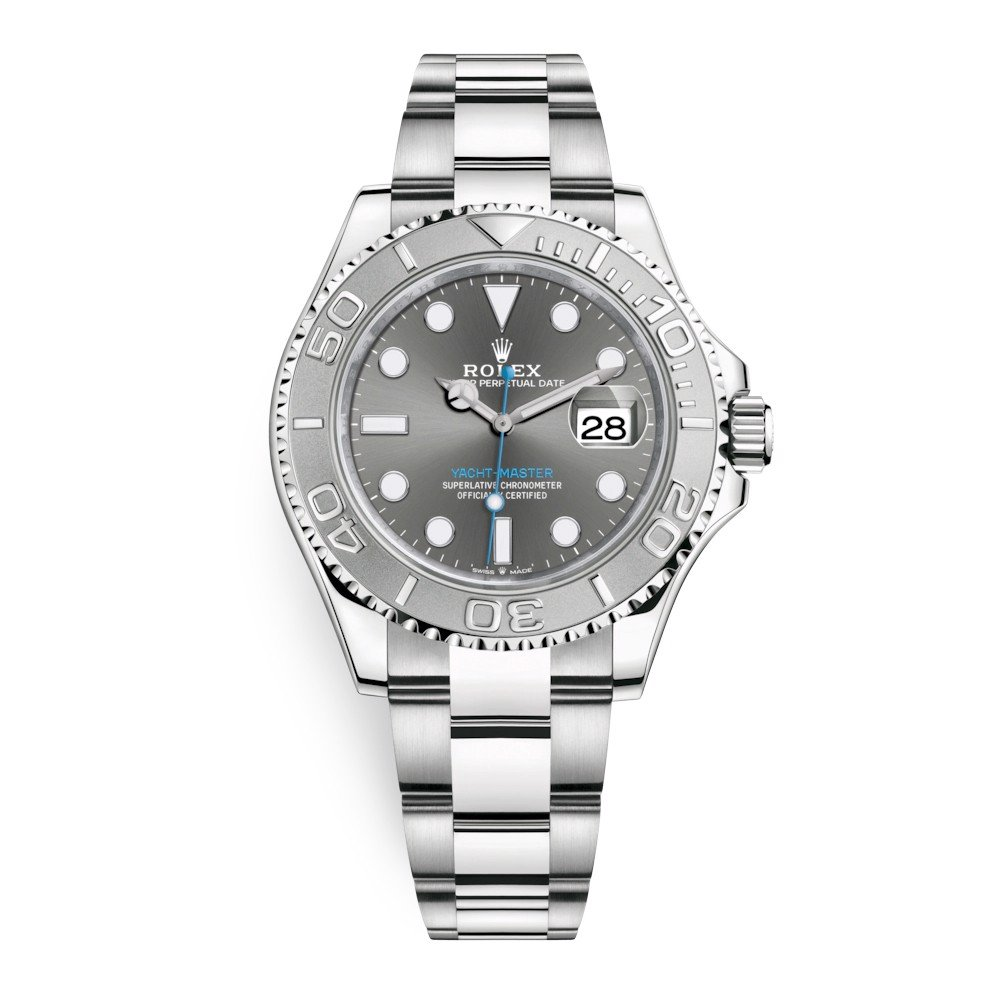 Rolex Yacht-Master 40mm Stainless Steel Dark Rhodium 126622-0001