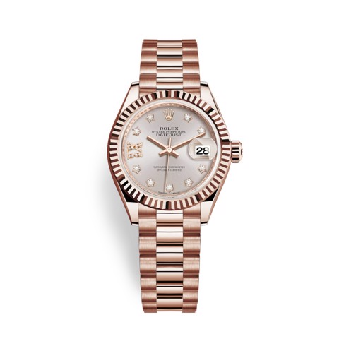 Rolex Lady-Datejust 28mm Everose Gold 279175-0005