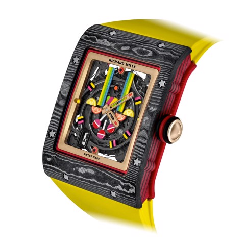 Richard Mille Men Watch Bonbon Collection RM 16-01 FRAISE