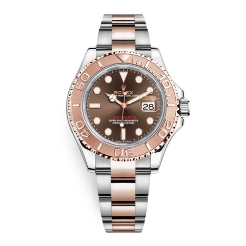 Rolex Yacht-Master 40mm Stainless Steel & Rose Gold Chocolate 126621-0001