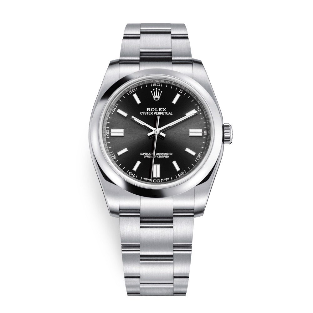 Rolex Oyster Perpetual 36mm Black Oyster 116000-0013
