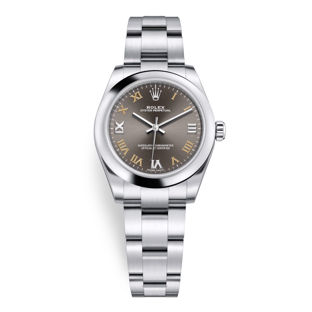 Rolex Oyster Perpetual 31mm Dark Grey 177200-0018
