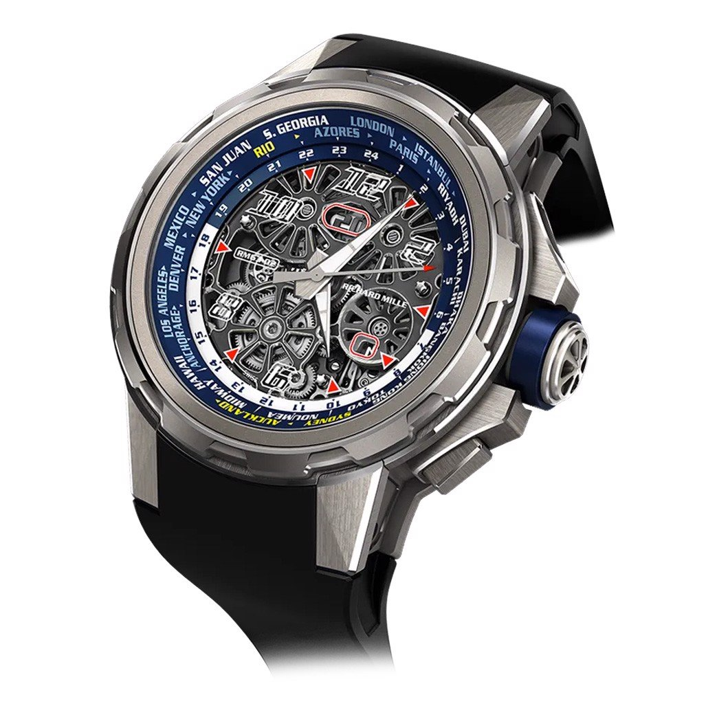 Richard Mille RM 63-02 Automatic Winding Worldtimer