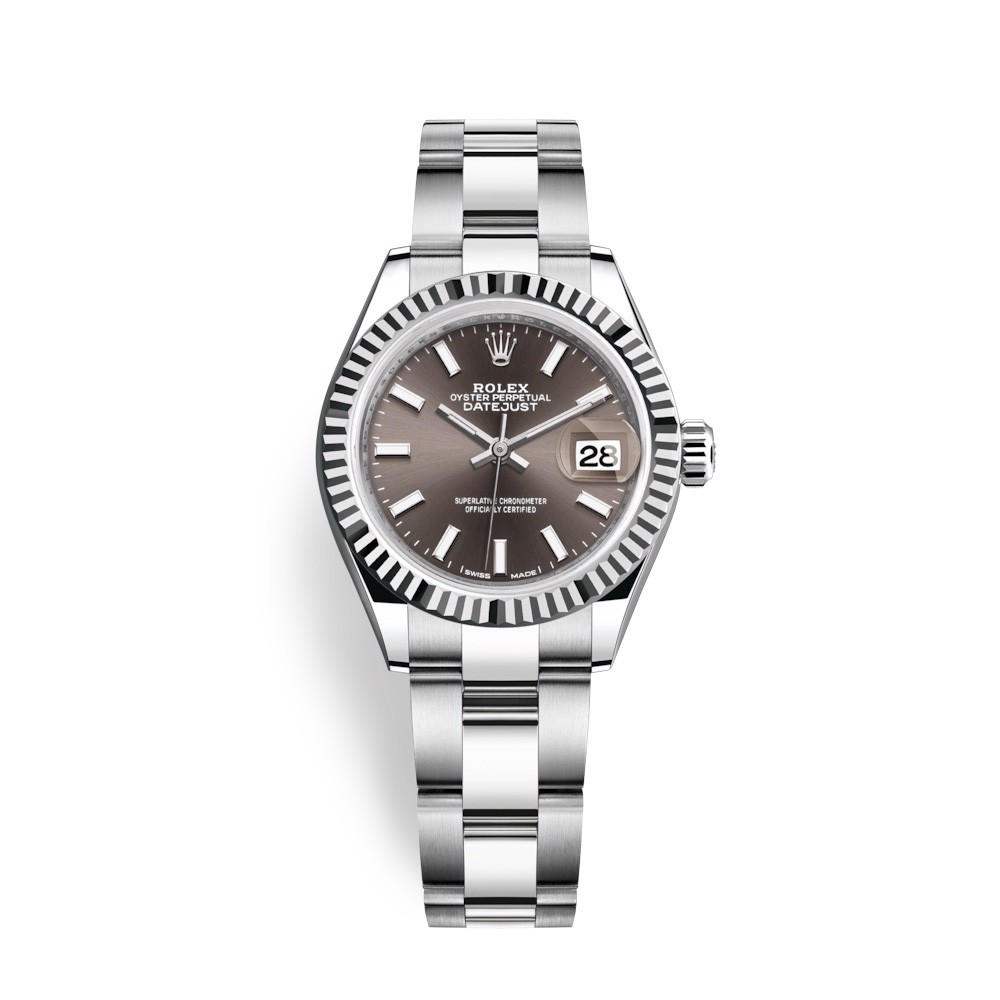 Rolex Lady-Datejust 28mm Stainless Steel Grey 279174-0012
