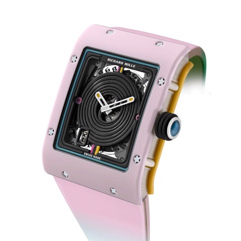 Richard Mille Men Watch Bonbon Collection RM 16-01 RÉGLISSE