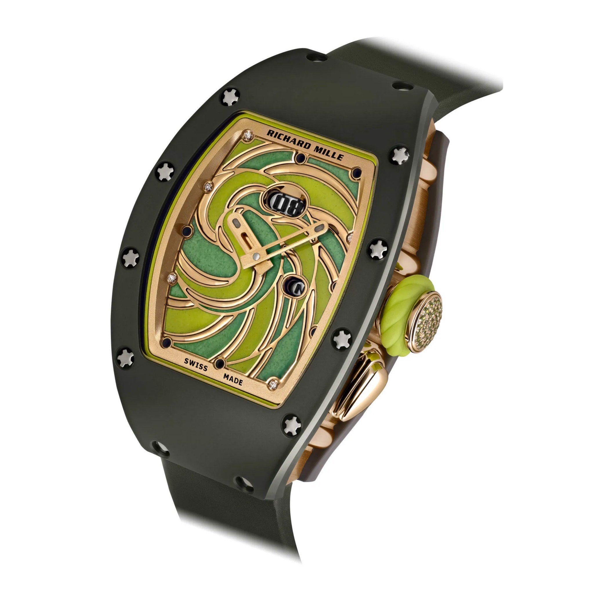 Richard Mille Men Watch Bonbon Collection RM 37-01 SUCETTE