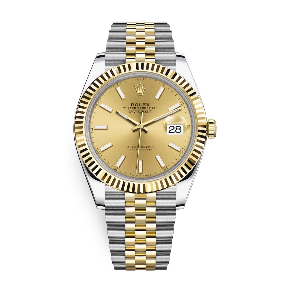 Rolex Datejust 41mm Steel and Yellow Gold 126333-0010