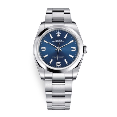 Rolex Oyster Perpetual 36mm Blue Oyster 116000-0002