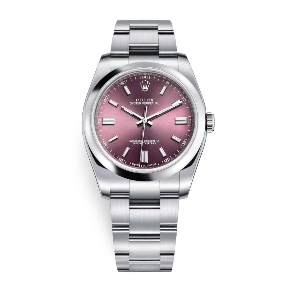 Rolex Oyster Perpetual 36mm Red Grape Oyster 116000-0010