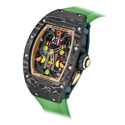 Richard Mille Men Watch Bonbon Collection RM 37-01 KIWI