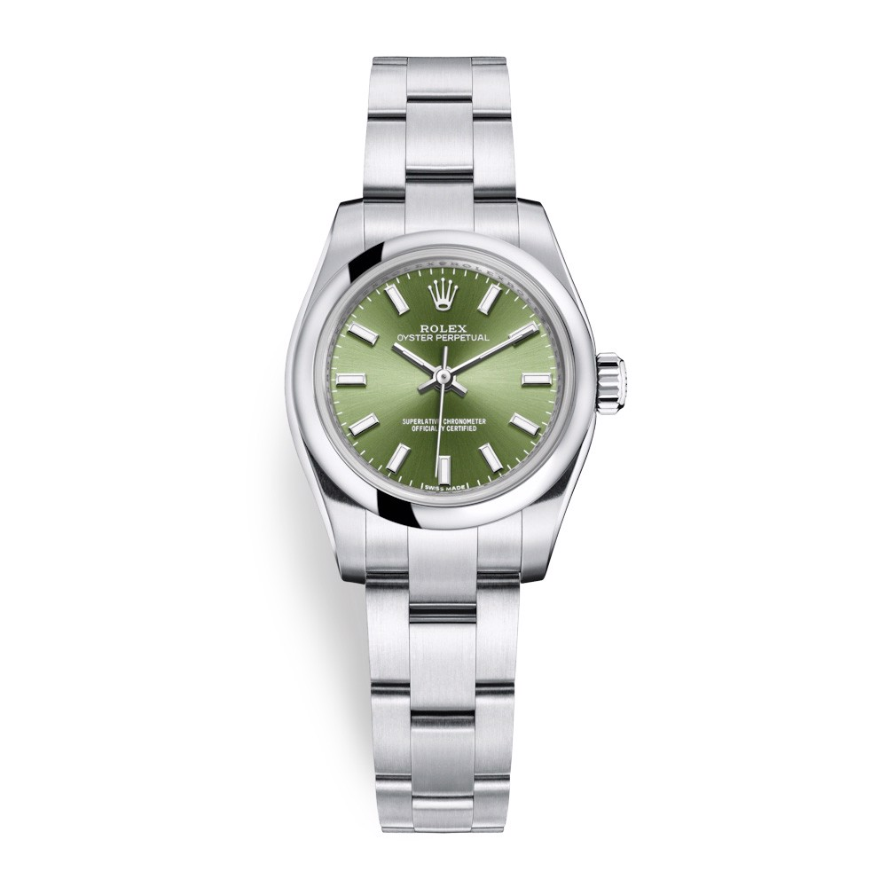Rolex Oyster Perpetual 26mm Green Olive 176200-0014