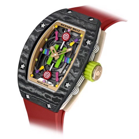 Richard Mille Men Watch Bonbon Collection RM 07-03 LITCHI