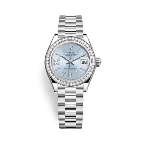 Rolex Lady-Datejust 28mm Platinum Diamonds 279136RBR-0001
