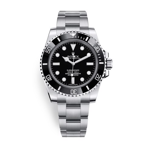 Rolex Submariner 40mm Stainless Steel Black 114060-0002