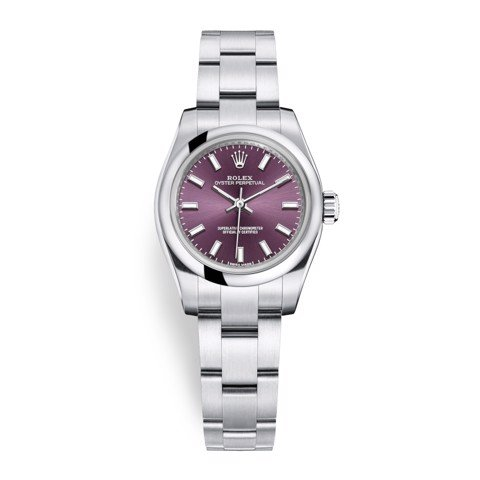 Rolex Oyster Perpetual 26mm Red Grape 176200-0016