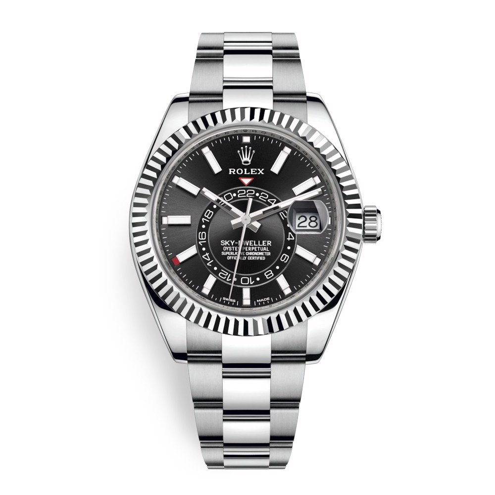 Rolex Sky Dweller 42mm Black Index 326934-0005