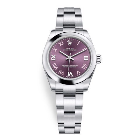 Rolex Oyster Perpetual 31mm Red Grape 177200-0017