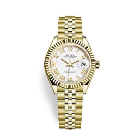 Rolex Lady-Datejust 28mm Yellow Gold 279178-0030