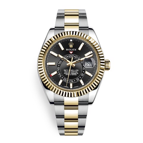Rolex Sky Dweller 42mm Black Index 326933-0002
