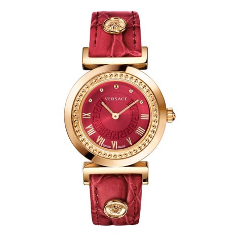 Đồng hồ nữ Versace Vanity Red Dial Ladies Watch 35mm