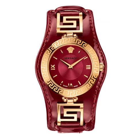 Đồng hồ nam Versace V-Signature Analog Display Red 35mm