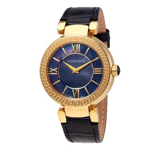 Đồng hồ nữ Versace Leda Black Mother Of Pearl Ladies 38mm