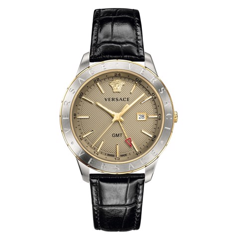 Đồng hồ nam Versace Men's Business Slim GMT 43mm