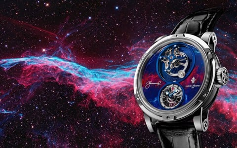 Đồng hồ nam Louis Moinet Spacewalker White gold 47.4mm