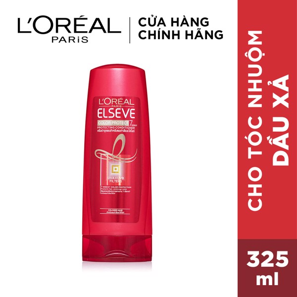 Dầu xả L'Oréal Paris Elseve Color Protect 7 Weeks Conditioner 325ml