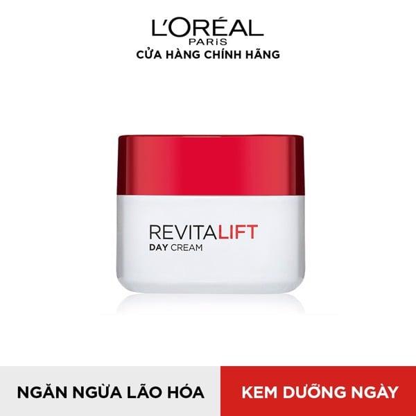 Kem dưỡng săn chắc da và giảm nếp nhăn ban ngày L'Oréal Paris Revitalift SPF23 PA++ 50ml