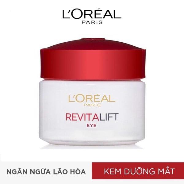 Kem dưỡng da vùng mắt chống lão hóa L'Oreal Paris Dex Revitalift Eye Cream 15ml