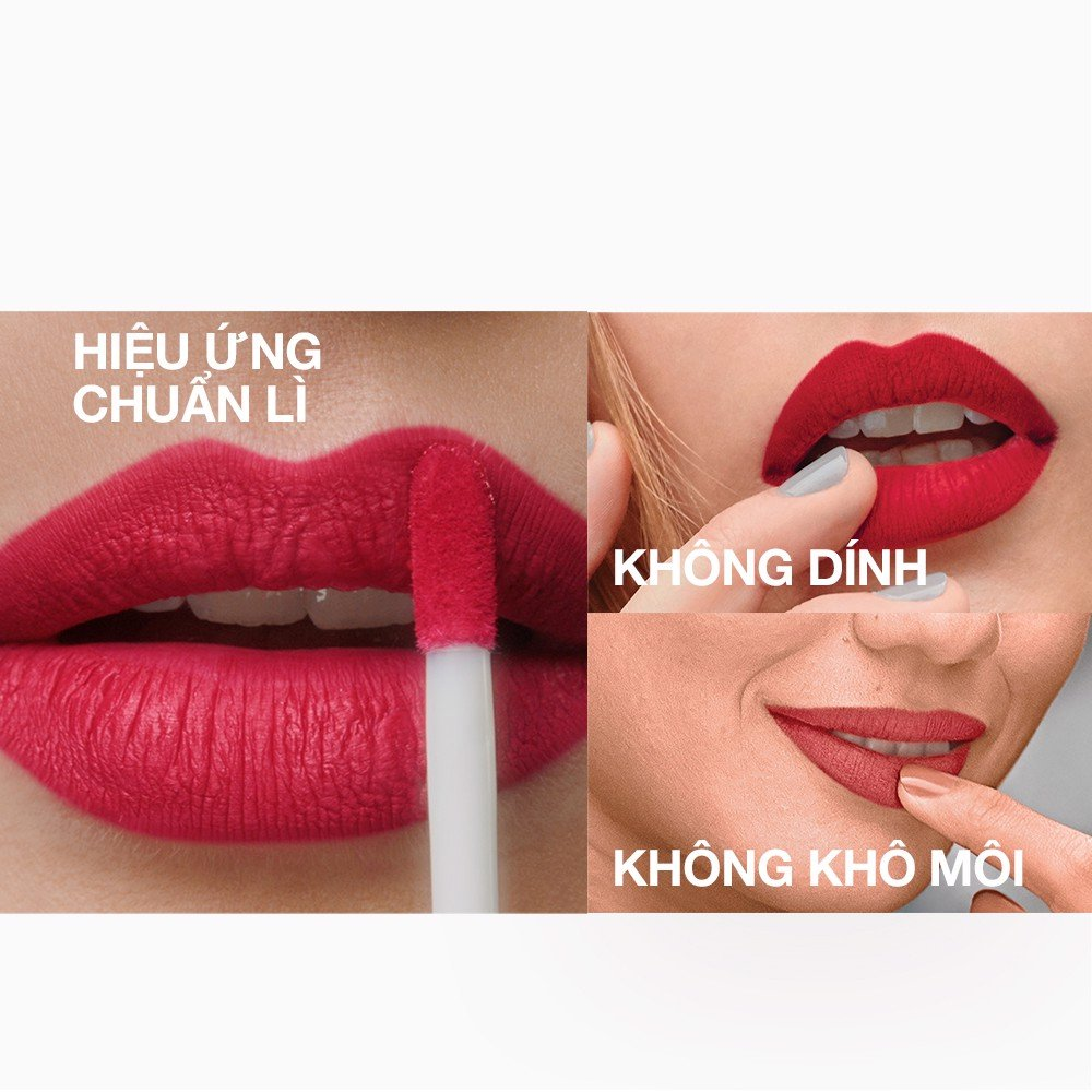 Son Kem Lì Nhẹ Môi Maybelline New York Sensational Liquid Matte Lipstick 7ml