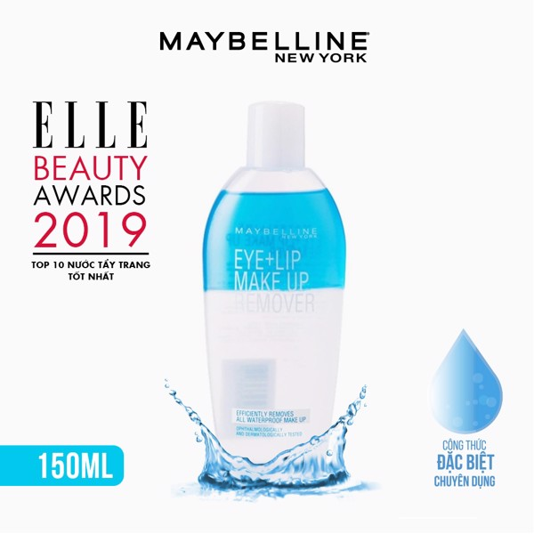 Tẩy Trang Mắt Môi Chuyên Dụng Maybelline New York Eye & Lip Makeup Remover