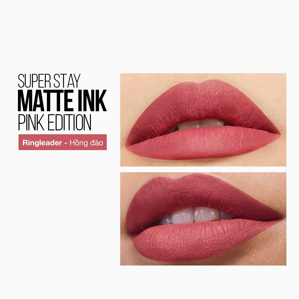 Son Kem Lì 16h Lâu Trôi Maybelline New York Super Stay Matte Ink Lipstick 5ml