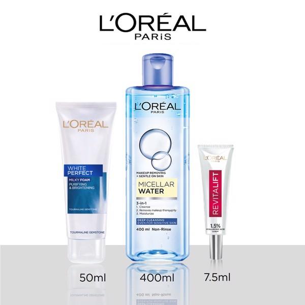 Bộ làm sạch sâu và dưỡng ẩm L'Oréal Paris