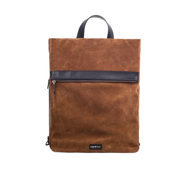 THE WOLF BACKPACK – TOBACCO SUEDE