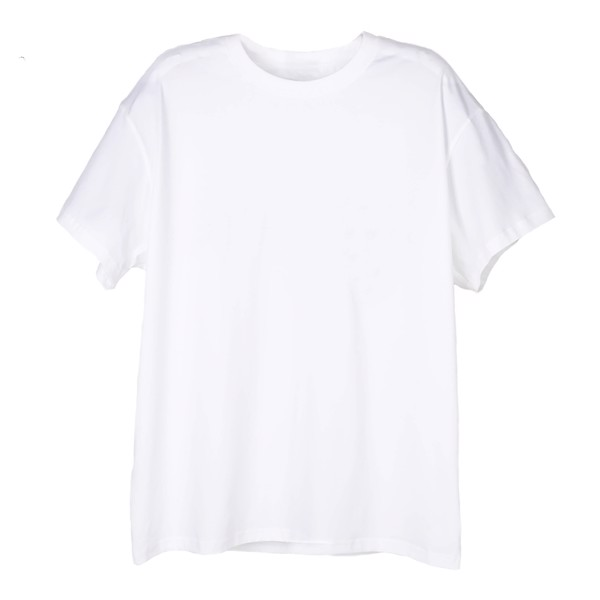 THE RISING WOLF BASIC TEE – WHITE