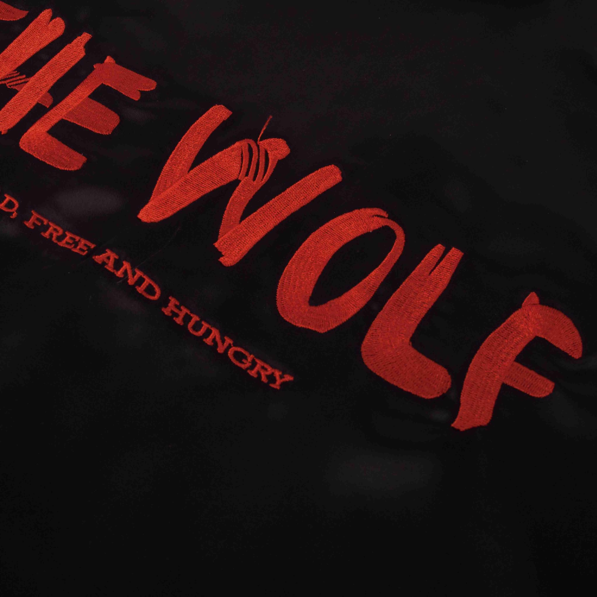 THE BRAVE WOLF SHIRT – BLACK