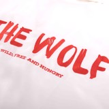 THE BRAVE WOLF SHIRT – WHITE