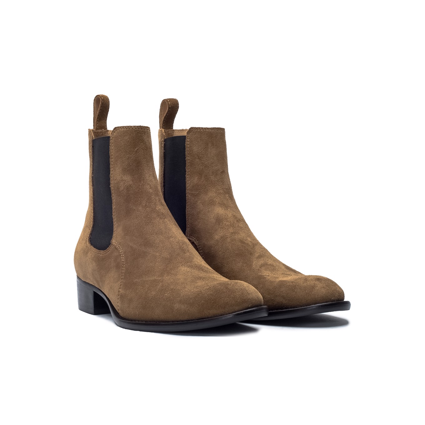 THE WILD WALK CHELSEA BOOT BLACK SOLE – TOBACCO