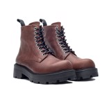 THE SHEWOLF COMBAT BOOT - BROWN
